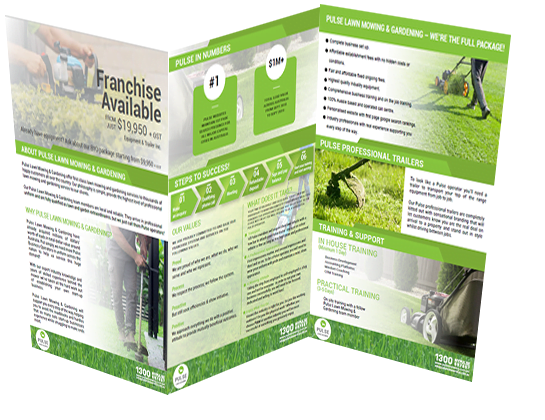franchise information pack for pulse lawn mowing & gardening